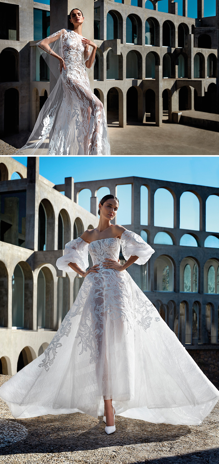 Atelier Pronovias Premiere Haute Couture Collection featured in Perfect Wedding Magazine
