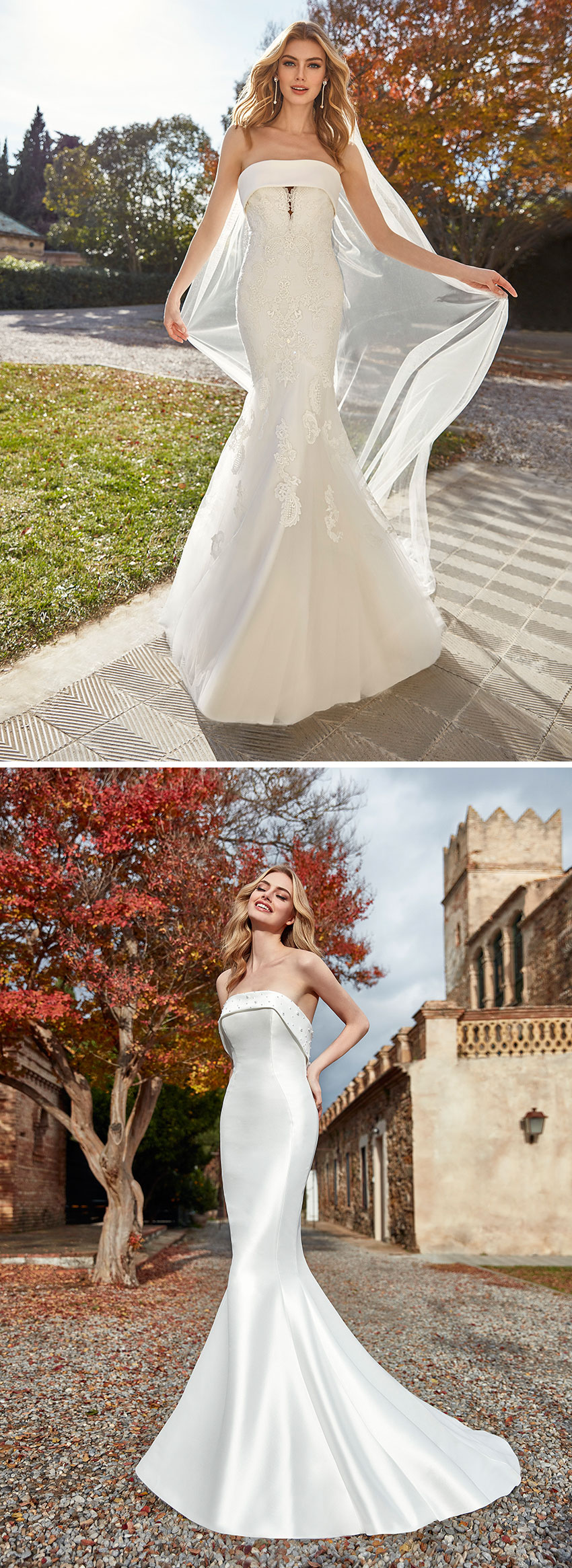 St. Patrick 2021 bridal collection pays tribute to New York's upper east side as featured in Perfect Wedding Magazine
