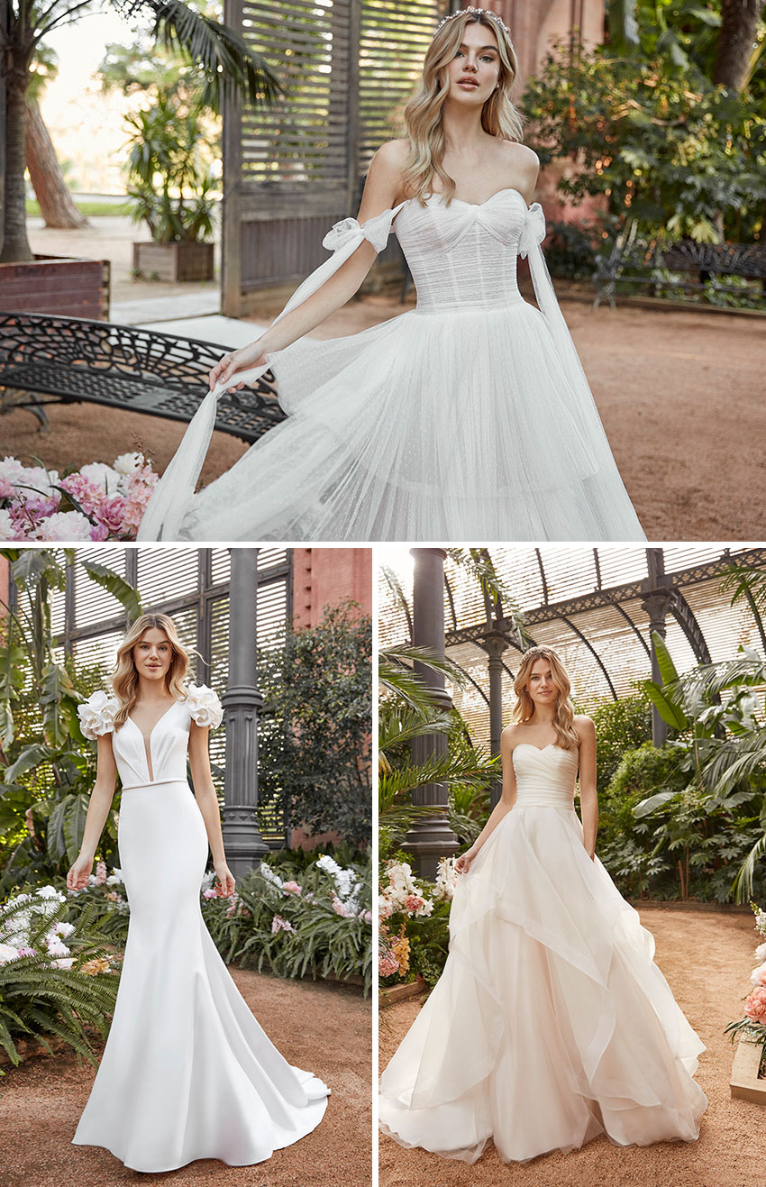 St. Patrick La Sposa 2021 collection portrays the romantic feel of New York City as Featured in Perfect Wedding Magazine