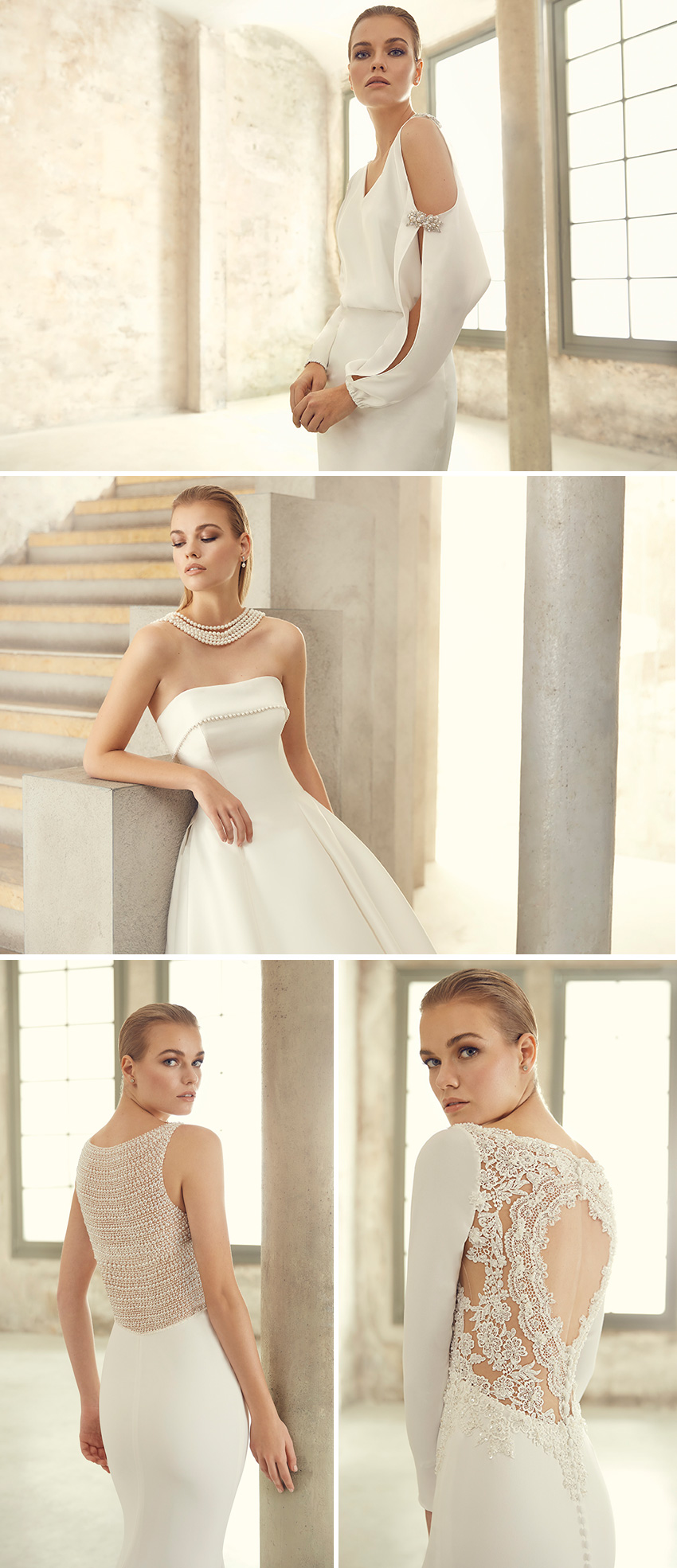 St Patrick Studio 2021 collection inspired by the film Breakfast at Tiffany's featured in Perfect Wedding Magazine