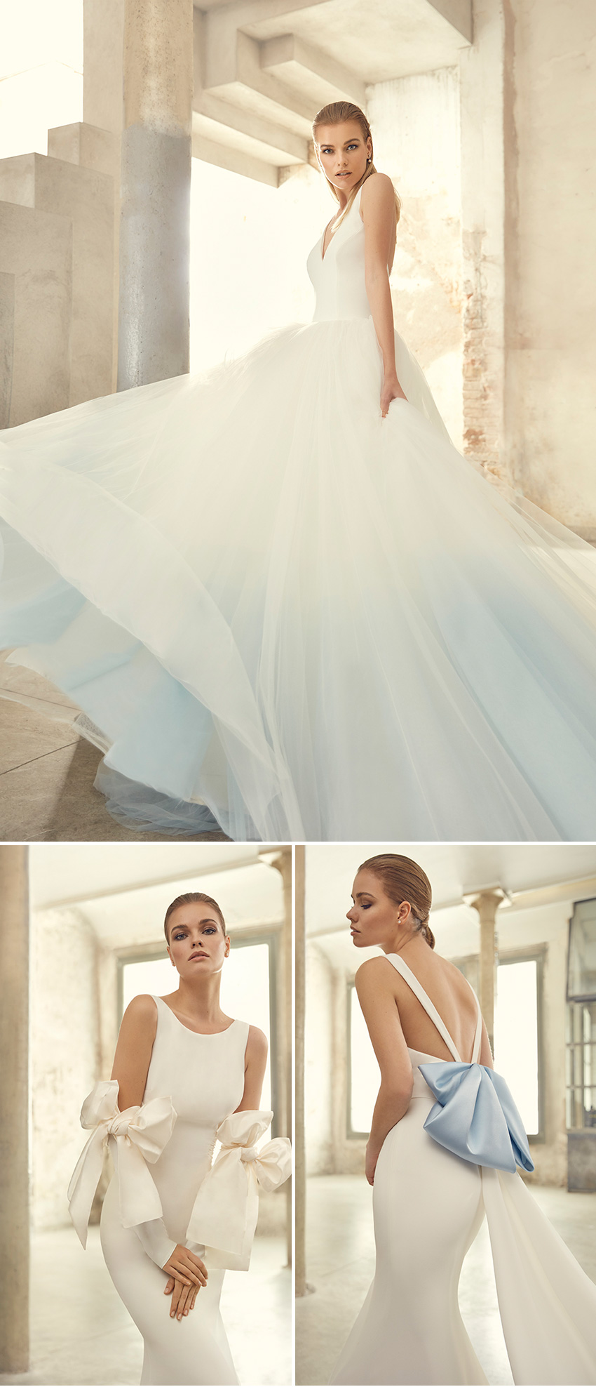 St Patrick Studio 2021 collection is Modern Fairytale in Perfect Wedding Magazine