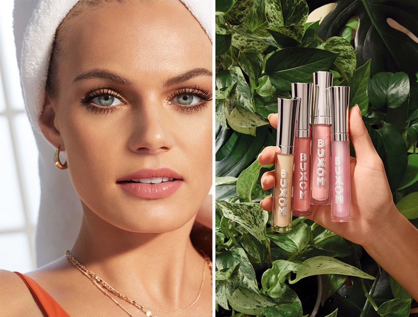 Buxom Staycation Vibes collection includes 4 new shades of the Full-On Plumpling Lip Polish featured in Perfect Wedding Magazine