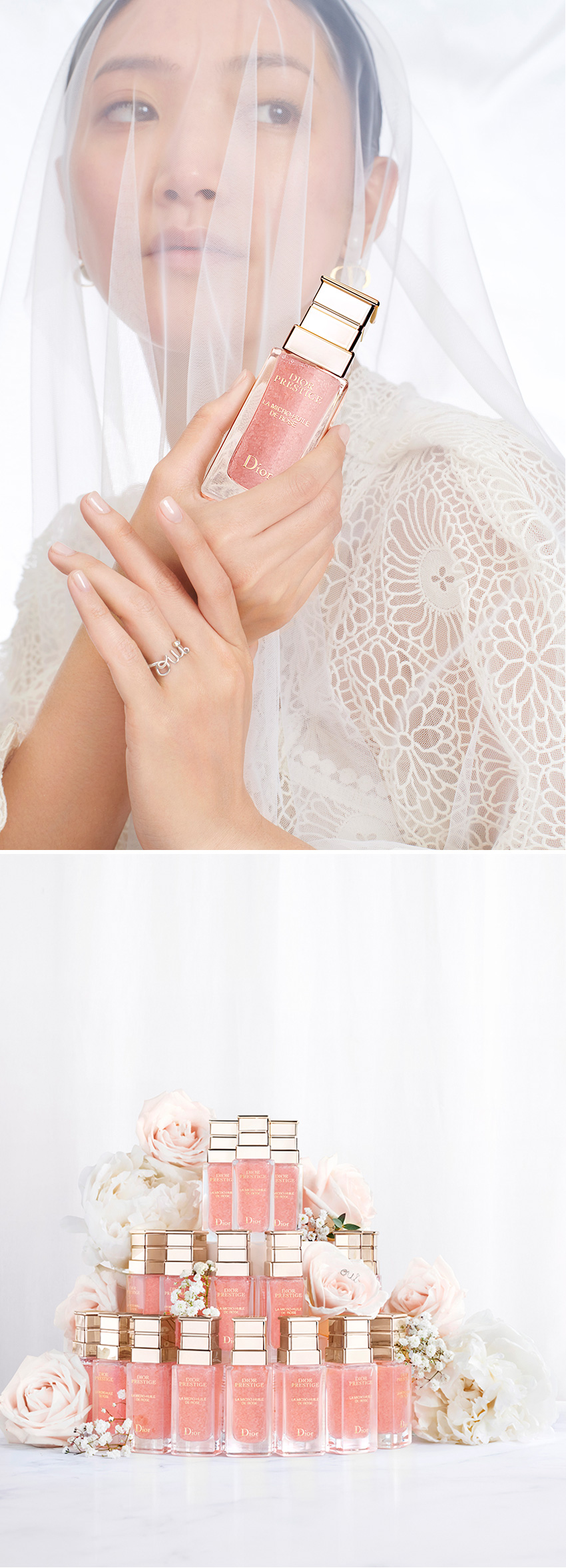 Radiante skin for your wedding day with Dior Skincare Dior Capture Totale