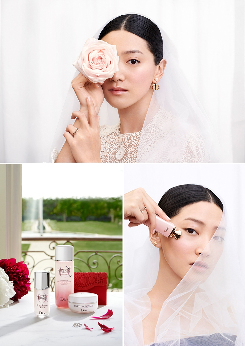 Dior Skincare to get your sking beautiful for your wedding day featured in Perfect Wedding Magazine