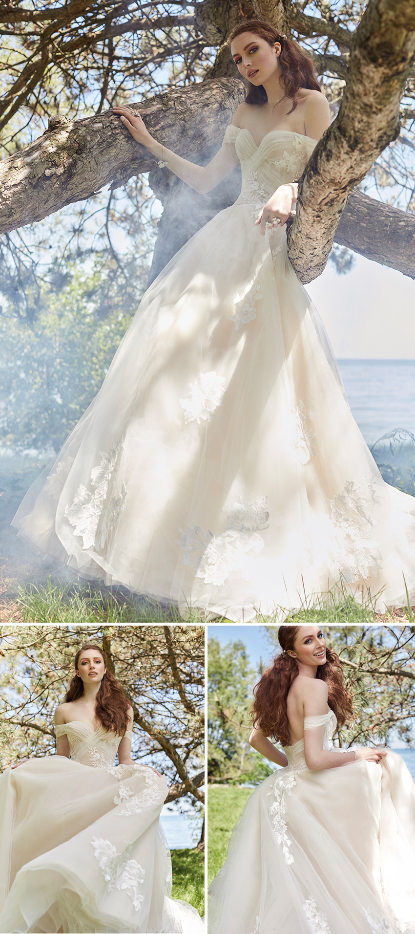 Ines Di Santo Spring 2021 Couture bridal collection is ethereal as featured in Perfect Wedding Magazine