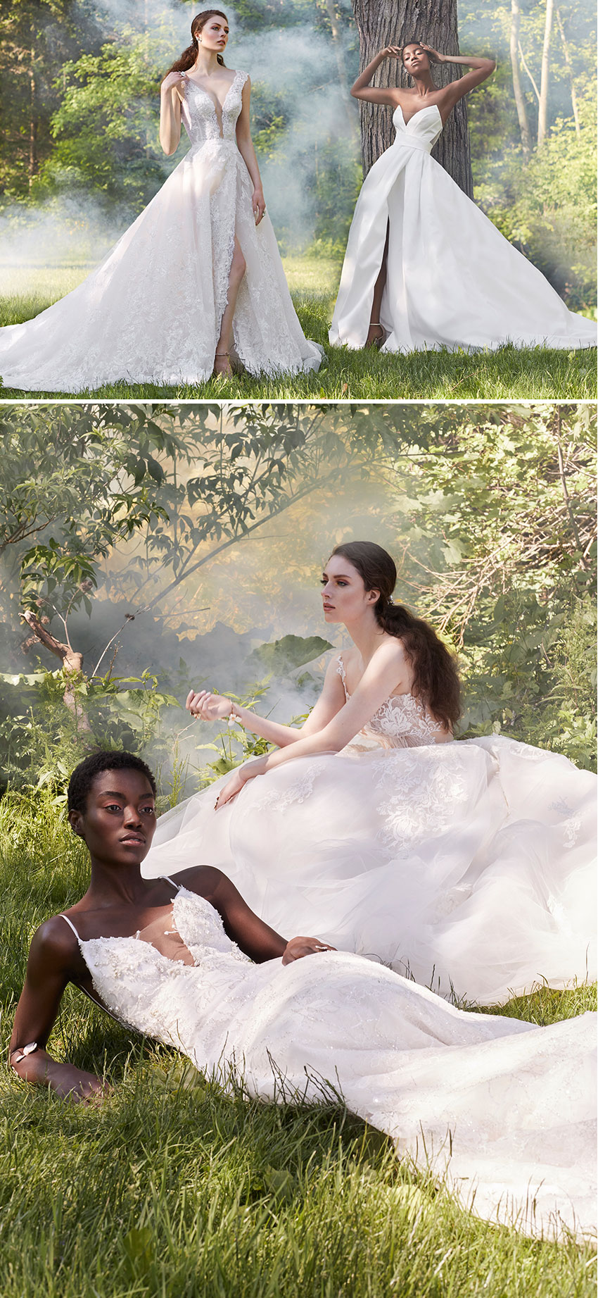 Ines Di Santo Spring 2021 Couture bridal collection is featured in the most popular wedding blog Perfect Wedding Magazine