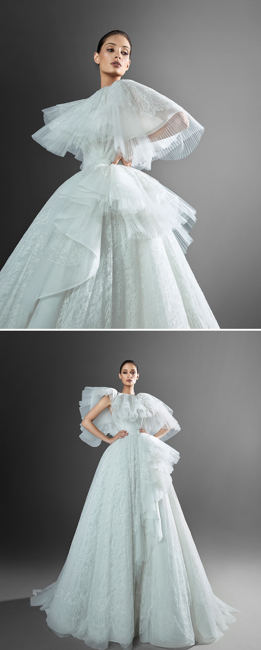 Zuhair Murad Spring 2021 bridal collection featured in Perfect Wedding Magazine