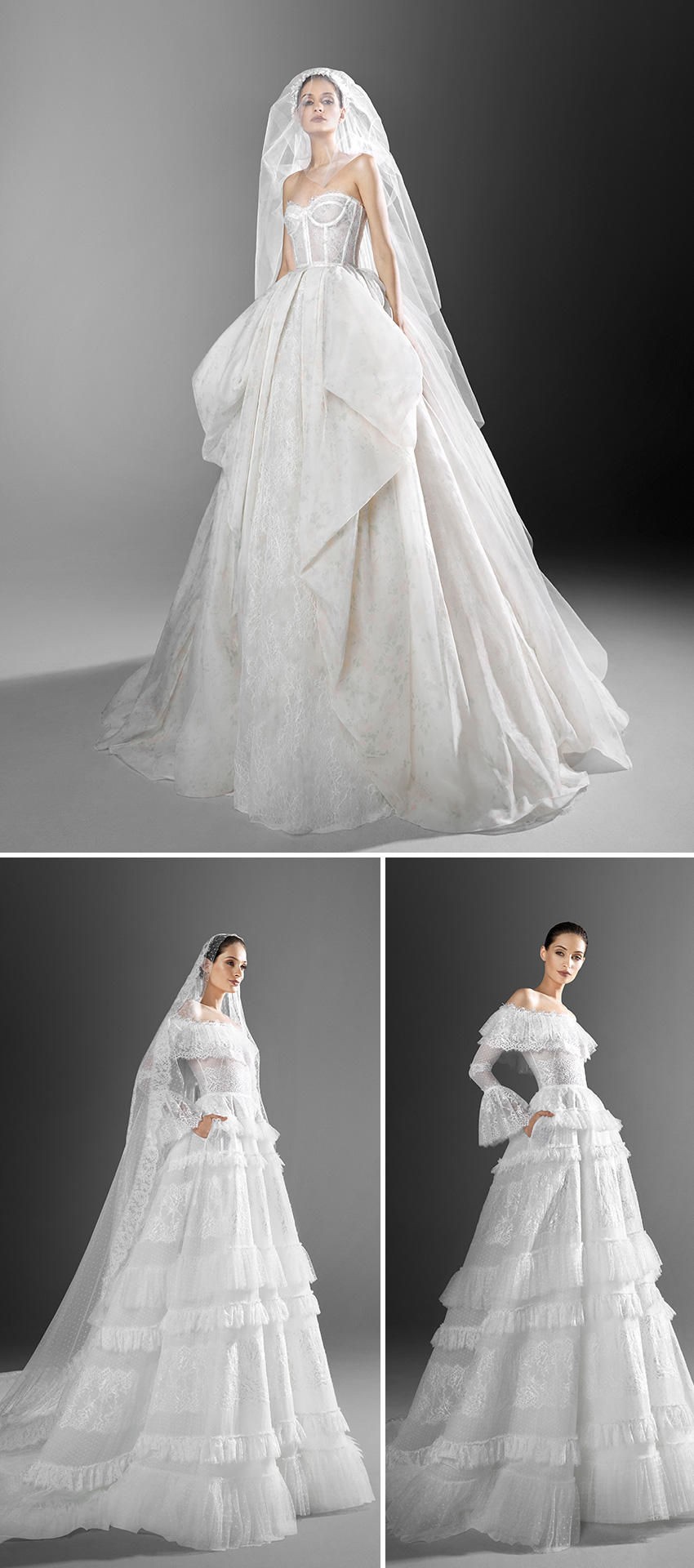 Zuhair Murad Spring 2021 bridal collection includes sensual silhouettes in luxurious looks featured in Perfect Wedding Magazine