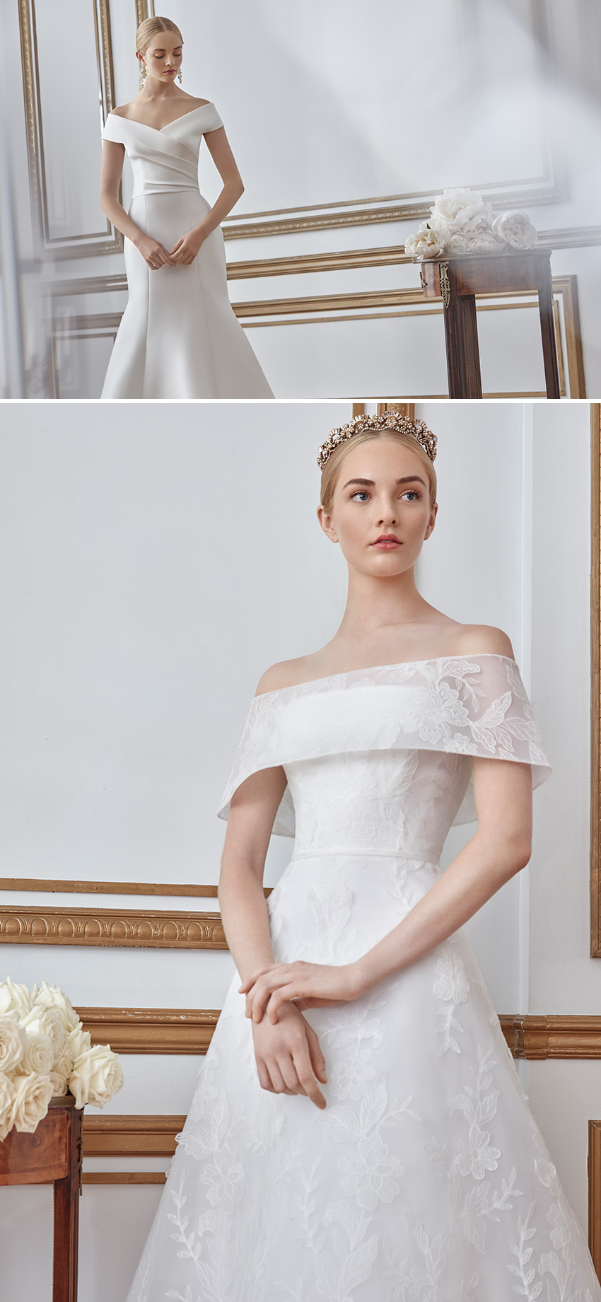 Sareh Nouri Fall 2021 Bridal Collection is designed for the Bride that celebrates Love and overcomes all adversities featured in Perfect Wedding Magazine