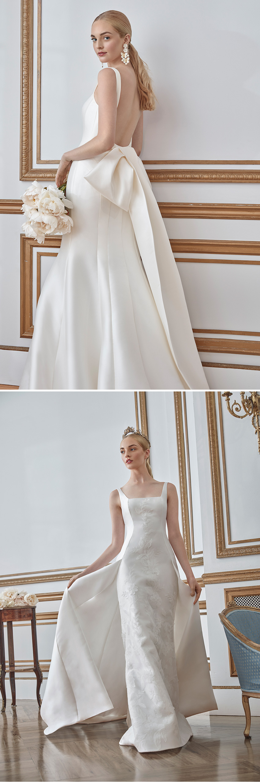 Sareh Nouri Fall 2021 Bridal Collection fir to the princess bride featured in Perfect Wedding Magazine