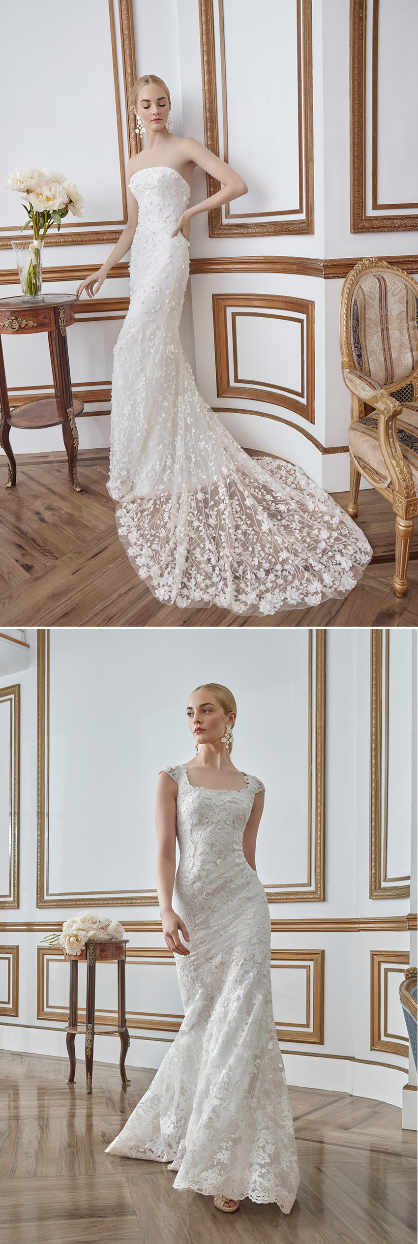 Sareh Nouri Fall 2021 Bridal Collection is designed for the Modern Bride featured in Perfect Wedding Magazine
