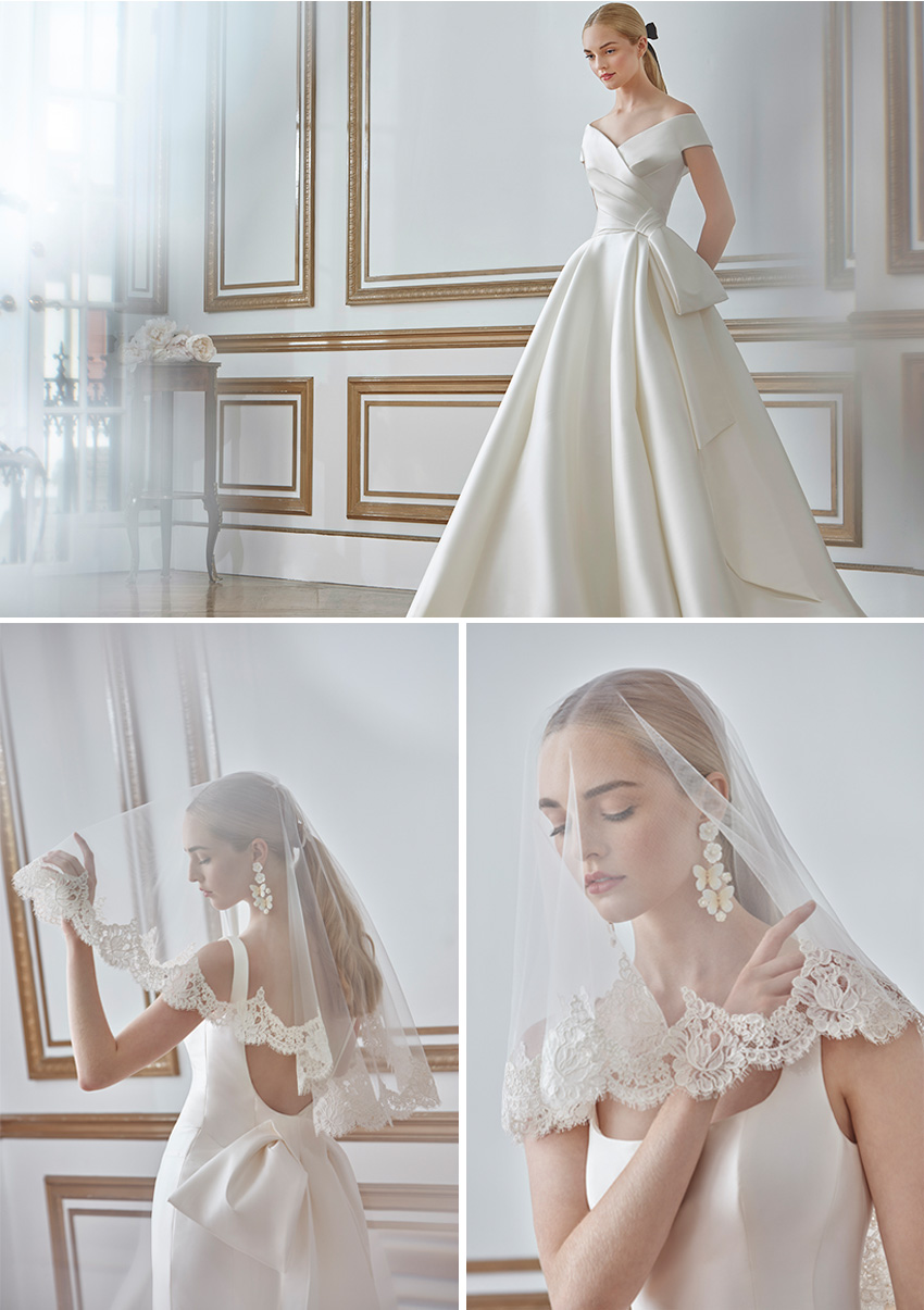 Sareh Nouri Fall 2021 Bridal Collection featured in Perfect Wedding Magazine