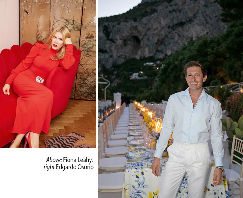 Aquazzura Casa creative director Fiona Leahy featured in Perfect Wedding Magazine