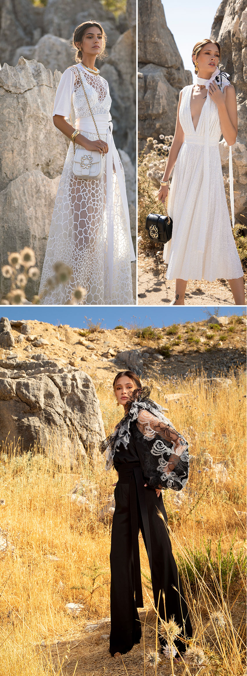 Elie Saab Ready-to-Wear Spring Summer 2021 embodies the spirited woman as she awakens from seclusion in Perfect Wedding Magazine
