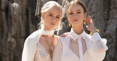 Elie Saab Ready-to-Wear Spring Summer 2021 features bold self-expressions of an adventurous woman featured in Perfect Wedding magazine