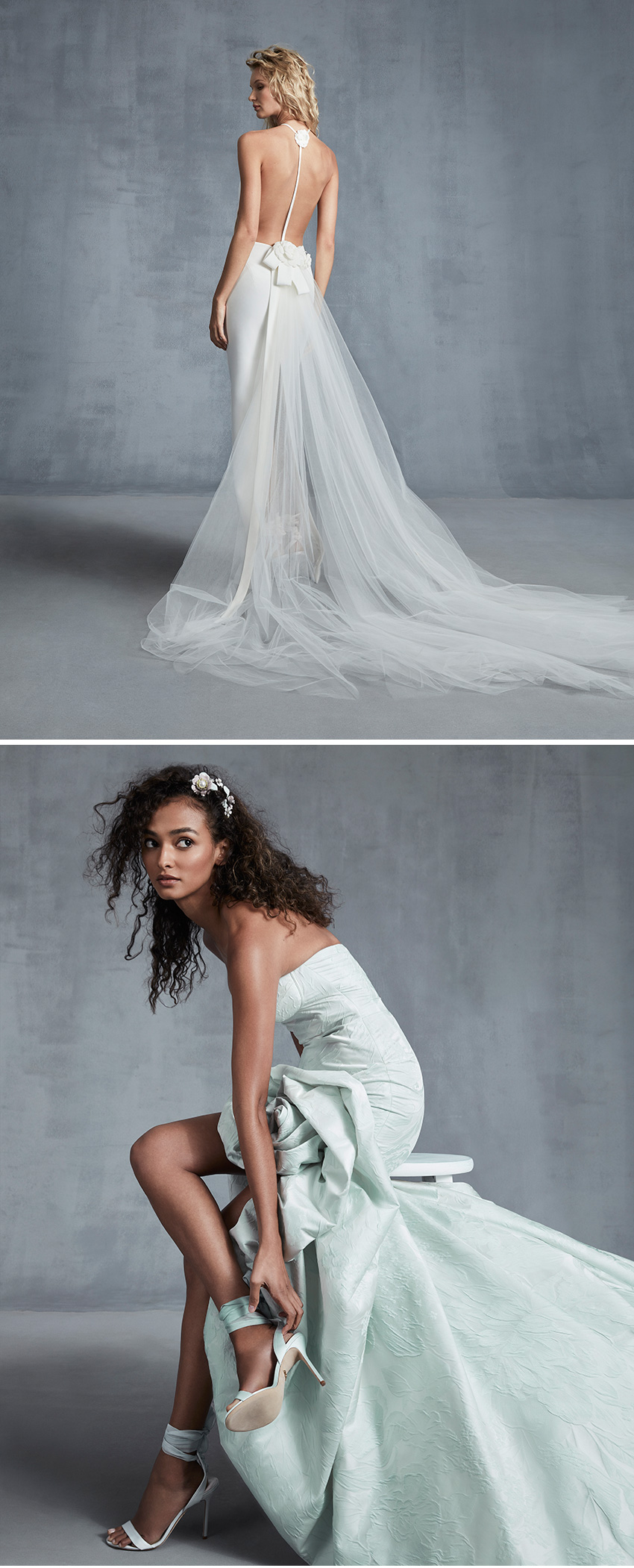 Ines Di Santo Fall 2021 bridal collection Wrapped in Love featured in Perfect Wedding Magazine