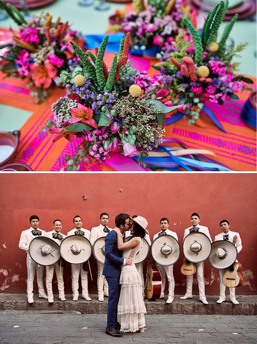 San Miguel de Allende second best city to visit in Mexico according to Condé Nast Traveller featured in Perfect Wedding Magazine