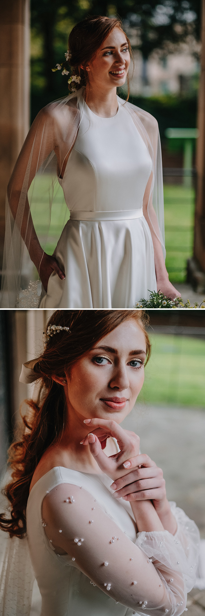 Bridal beauty inspiration for the modern bride featured in Perfect Wedding Magazine