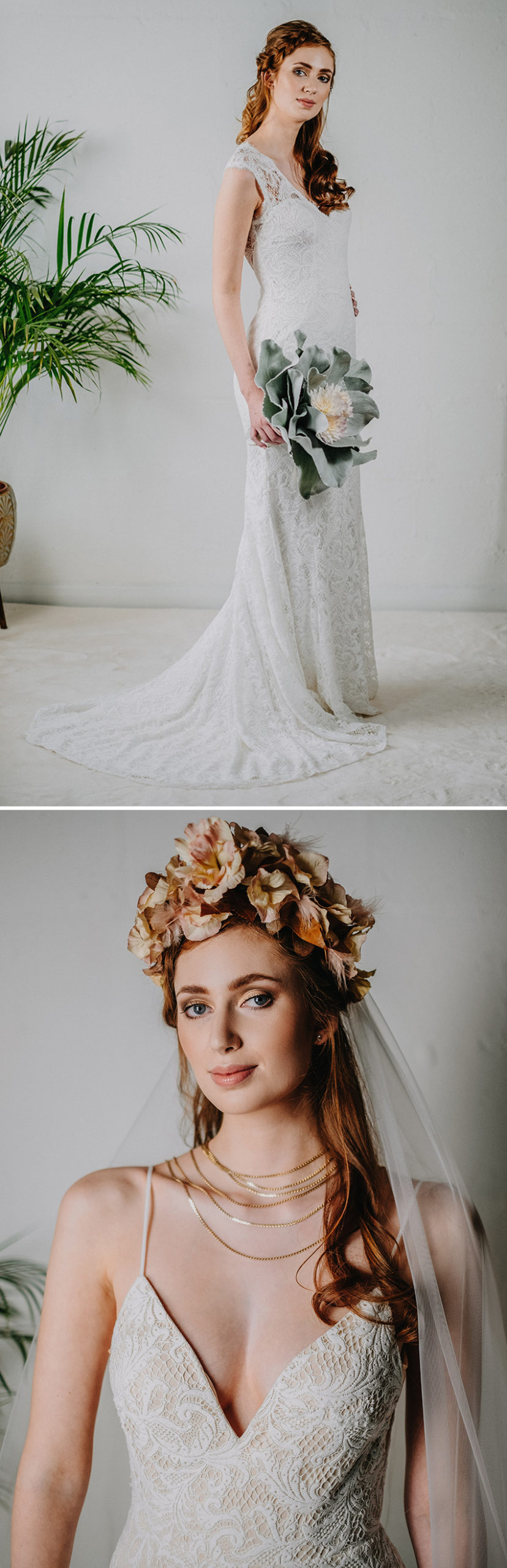 Fall wedding florals and autumn bouquets UK bride featured in Perfect Wedding Magazine