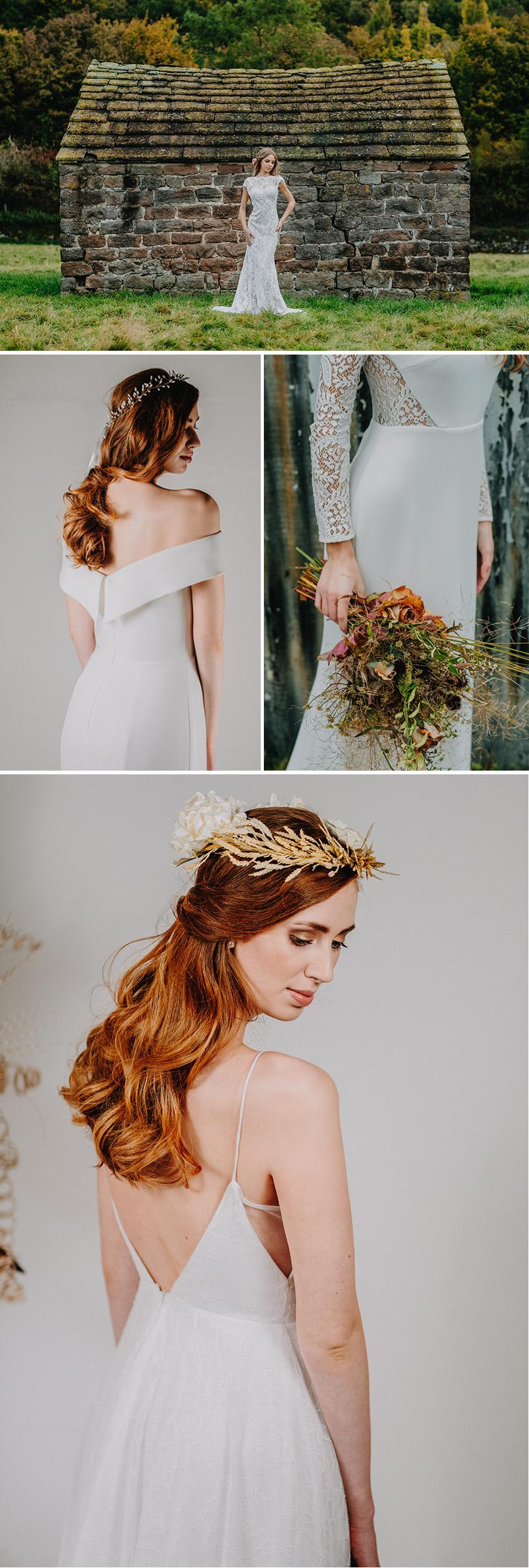 Australian wedding dress designer Wendy Makin's French bridal collection featured in Perfect Wedding Magazine