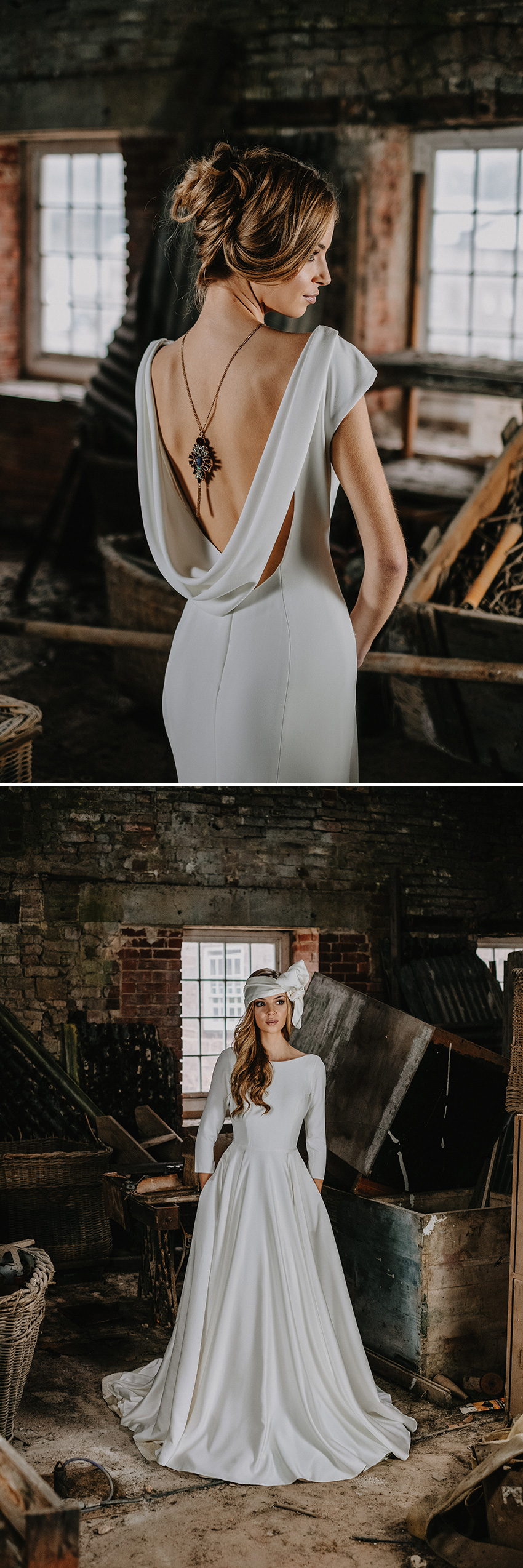 Wedding gowns for the Autumn featured in Perfect Wedding Magazine