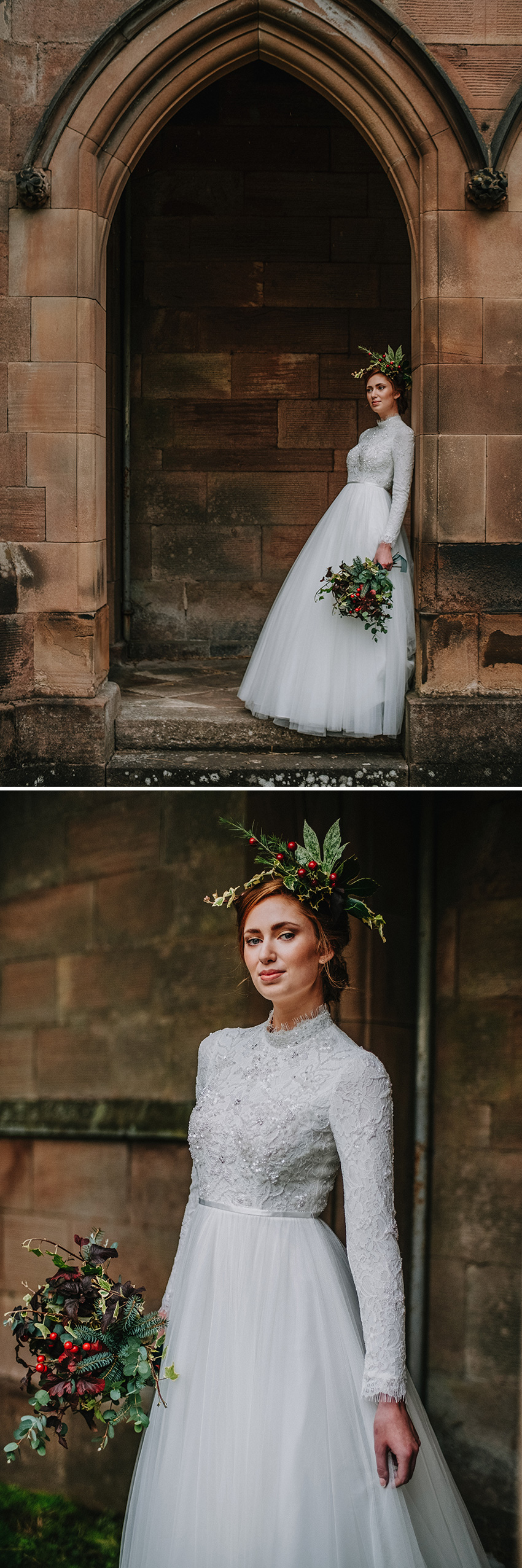 Autumn bridal looks for the modern bride featured in Perfect Wedding Magazine