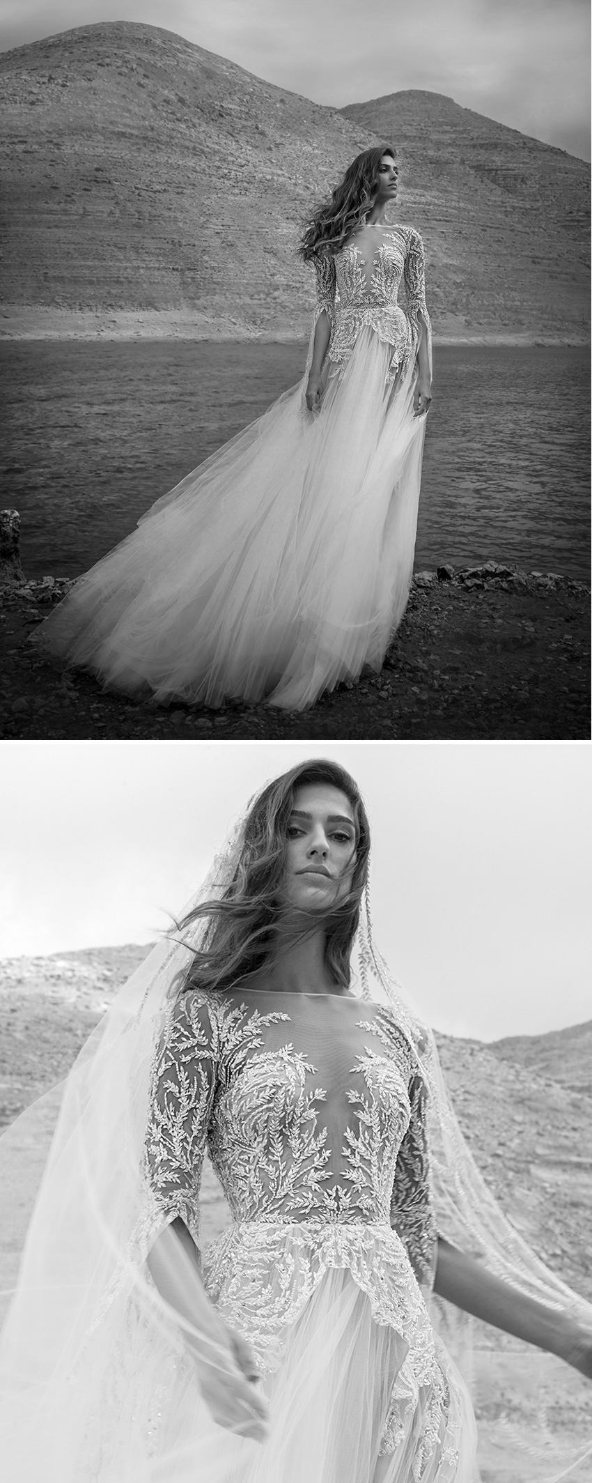 Zuhair Murad Fall 2021 bridal collection voluminous corset princess dress featured in Perfect Wedding Magazine