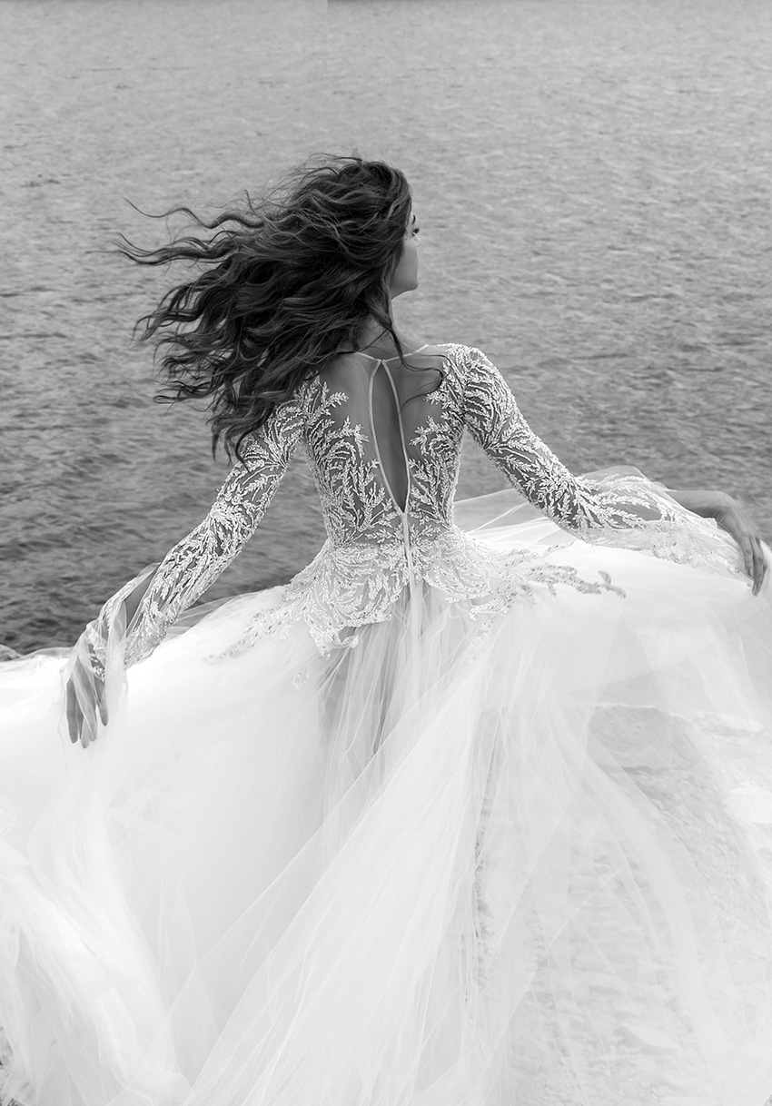 Zuhair Murad Fall 2021 bridal collection is romantic, sensual yet elegant and dreamer featured in Perfect Wedding Magazine
