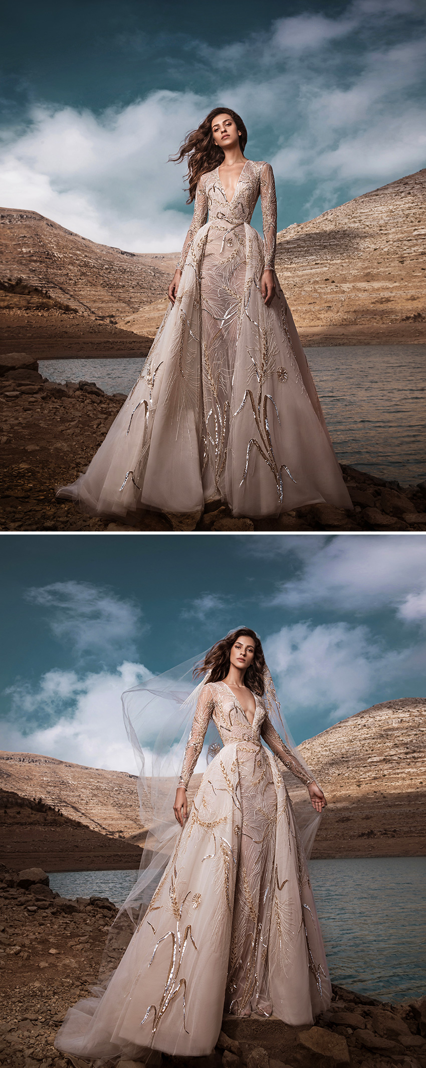 Zuhair Murad Fall 2021 bridal collection named Le temps de l'Automne featured in Perfect Wedding Magazine