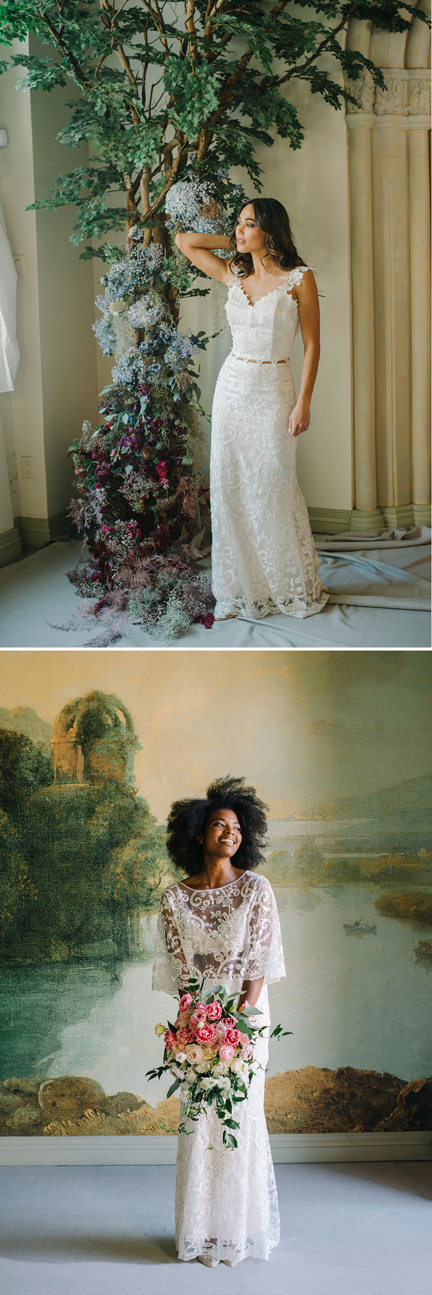 Claire Pettibone unvelis Ready to Wed collection in Perfect Wedding Magazine