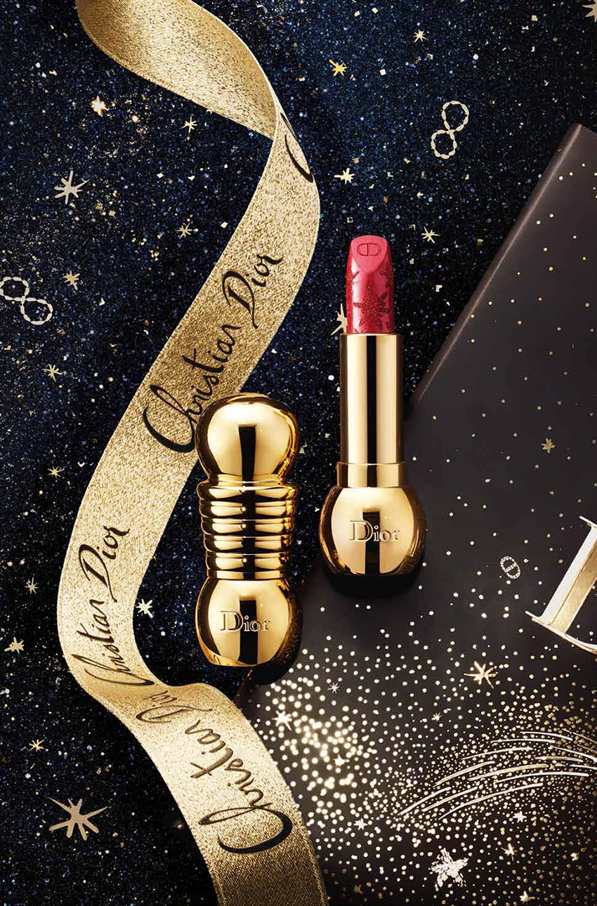 Diorific Golden Nights Dior lipsticks featured in Perfect Wedding Magazine