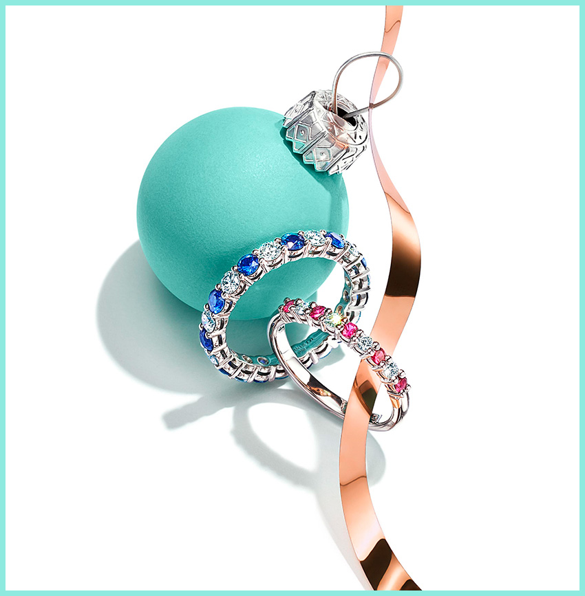 Tiffany High Jewellery Holiday Gift Guide featured in Perfect Wedding Magazine