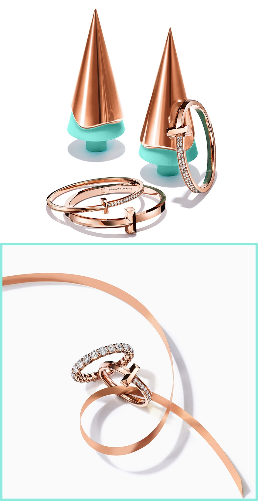 Tiffany T1 Holiday Gift idea featured in Perfect Wedding Magazine