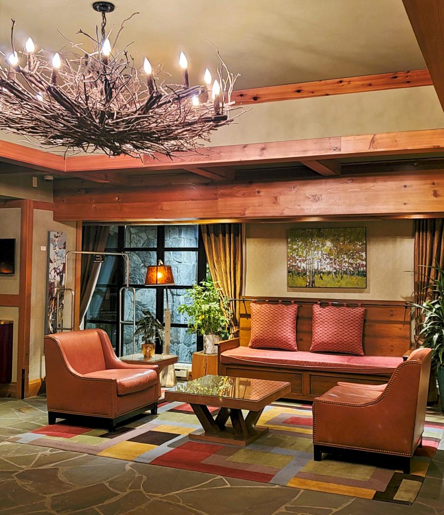 Whistler Sundial Hotel lobby
