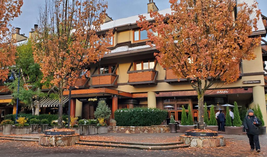 Whistler Araxi Restaurant