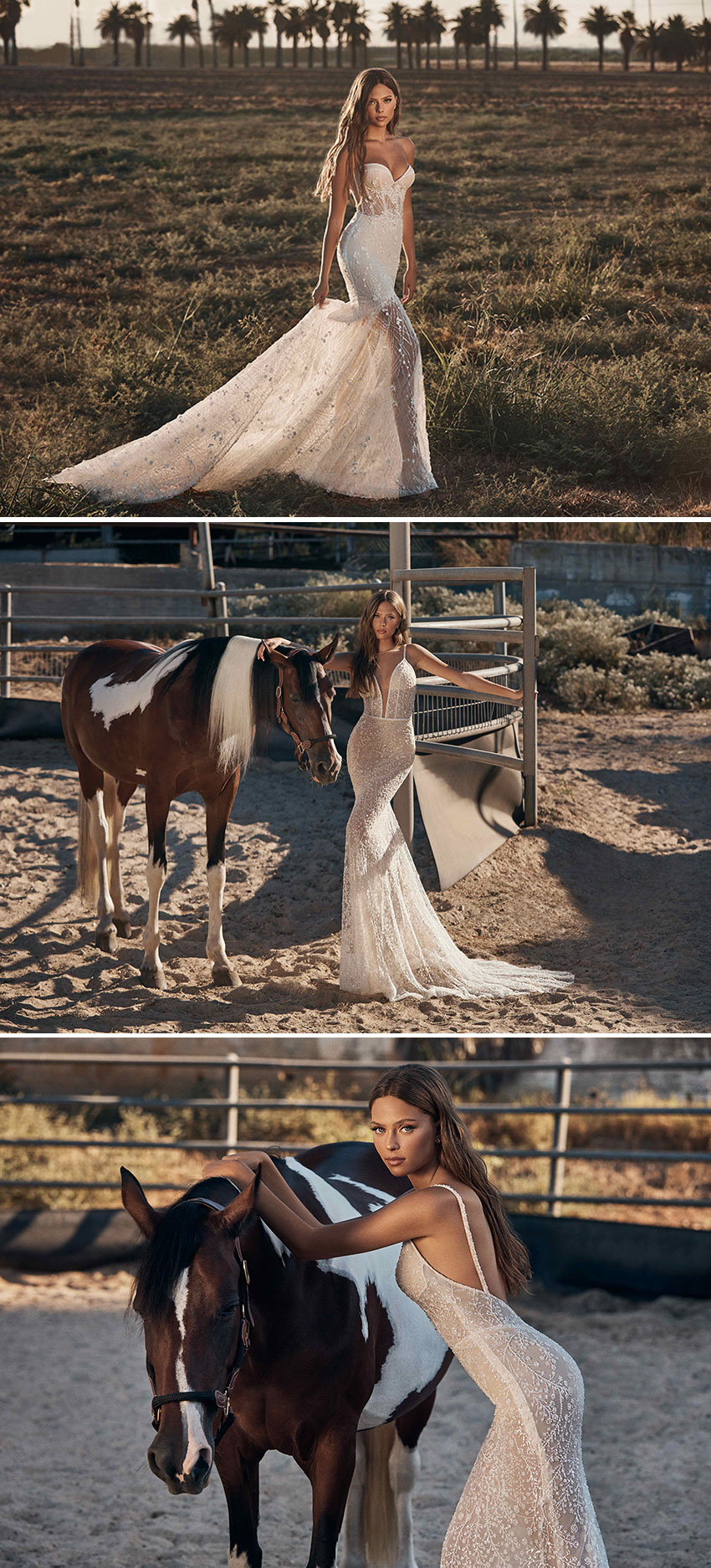 Gala by Galia Lahav Fall 2021 is available to purchse online and they offer virtual consultations via zoom in Perfect Wedding Magazine