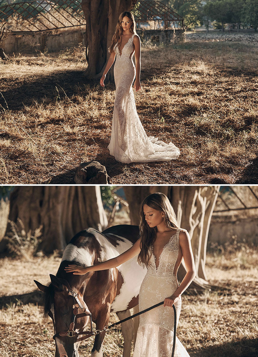 Gala by Galia Lahav fir the modern bride who are hosting microweddings featured in Perfect Wedding Magazine