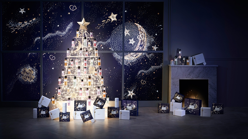 Celebrate the holidays with Maison Christian Dior with the most luxurious fragrances featured in Perfect Wedding Magazine