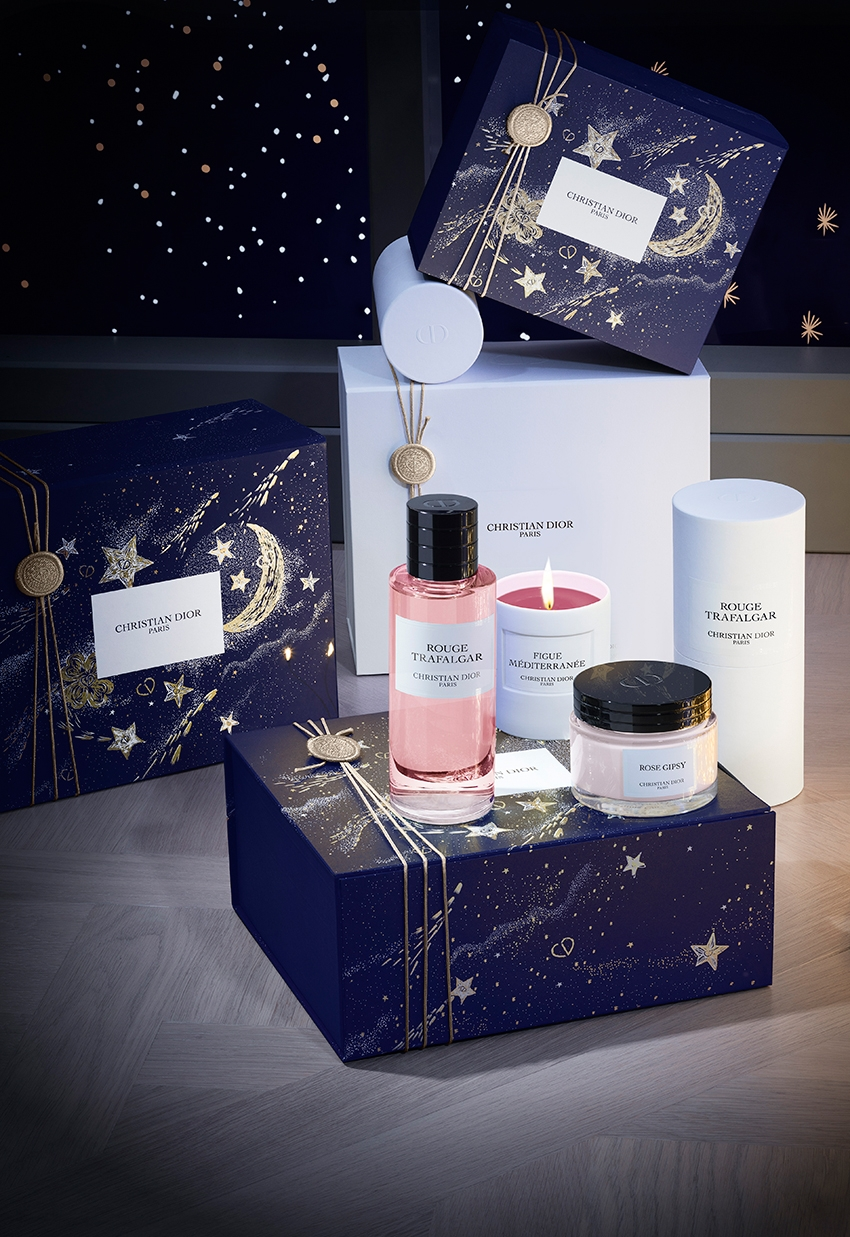 Maison Christian Dior Rouge Trafalgar luxurious gift for the holidays featured in Perfect Wedding magazine