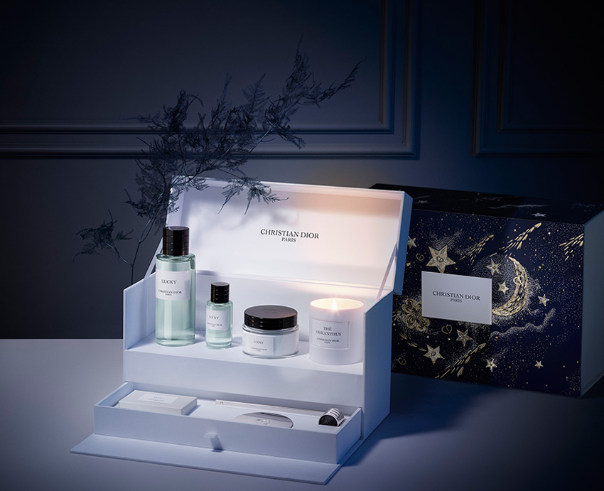 An exceptional gift, Maison Christian Dior's fragrances featured in Perfect Wedding Magazine