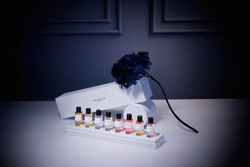 Maison Christian Dior a collection in the colours of emotions a holiday gift to celebrate the holidays at home featured in Perfect Wedding magazine