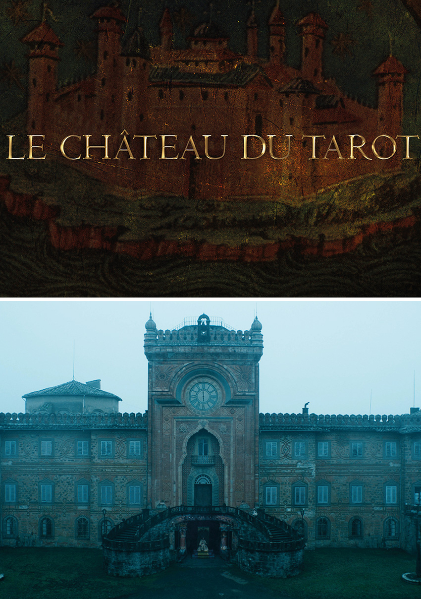Le Chateau of Tarot is Dior's Haute Couture Spring Summer 2021 collection presented in the digital version of Paris Fashion week featured in Perfect Wedding Magazine