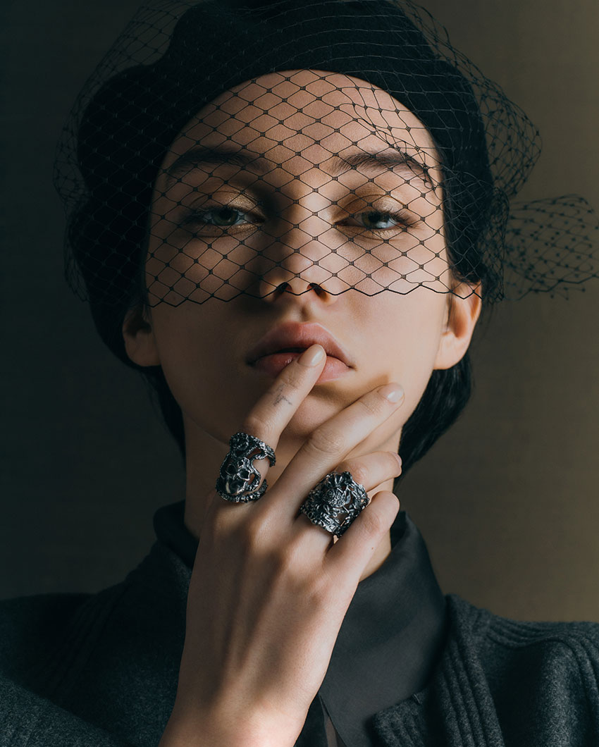 Dior Nail look for the Haute Couture Spring Summer 2021 collection in Perfect Wedding Magazine