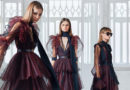 Elie Saab Pre Fall 2021 models photographed in studio featured in Perfect Wedding Magazine
