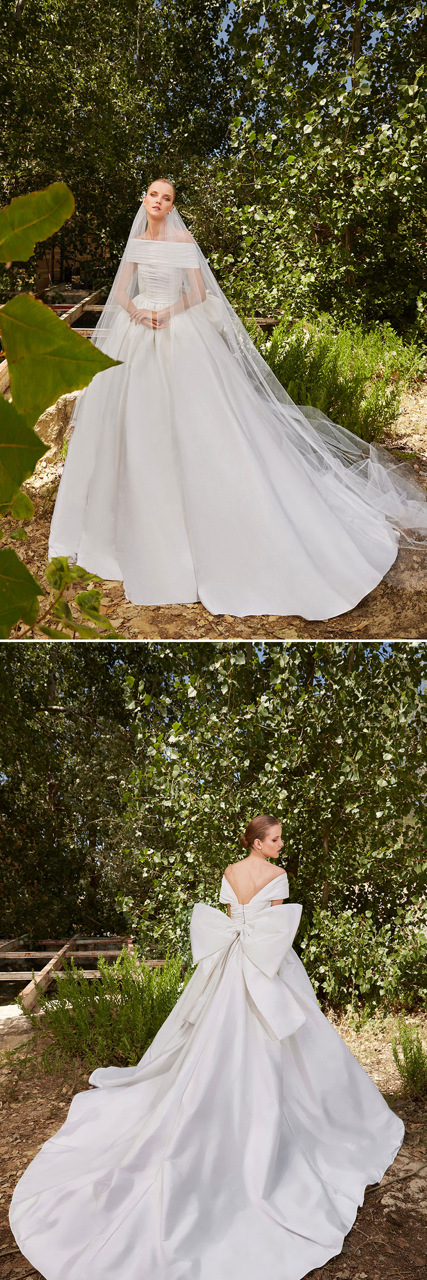 Radiant Muse is the Spring 2021 bridal collection of lebanese fashion designer Elie Saab as featured in Perfect Wedding Magazine
