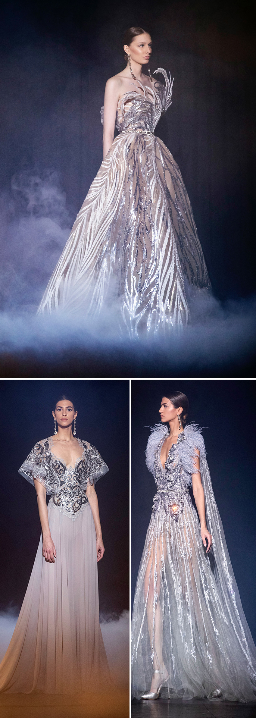Elie Saab haute Couture Spring Summer 2021 is Theater of Dreams in Perfect Wedding Magazine