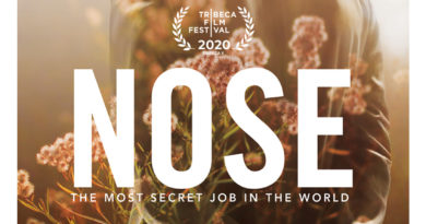 The official poster of NOSE documentary film premiering in Apple TV and Amazon Prime