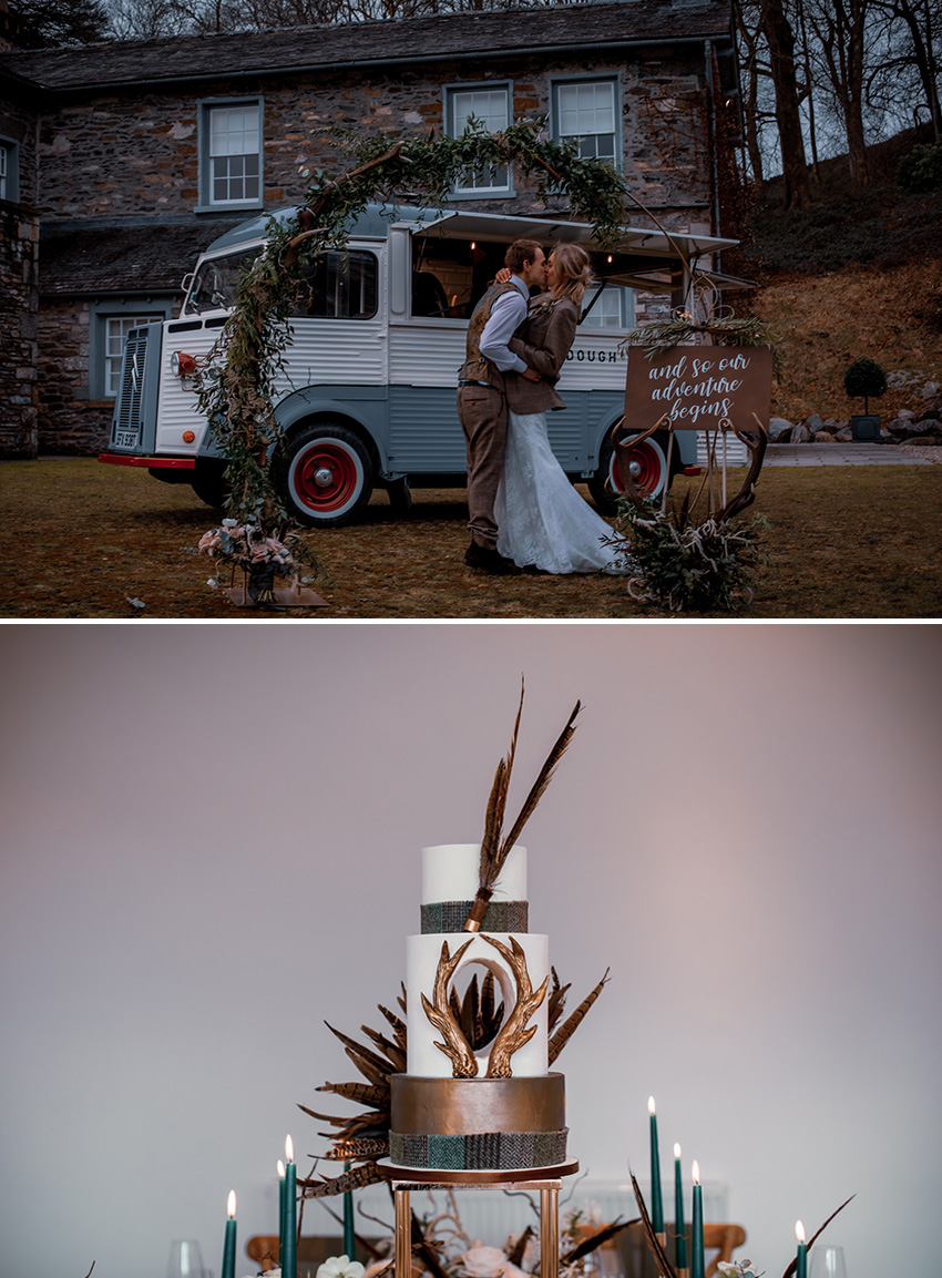 Outdoor style wedding inspiration design for a micro wedding featured in perfect wedding Magazine, Wedding blog
