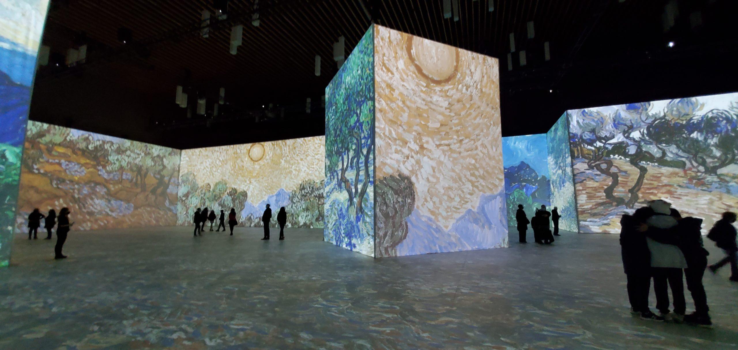 Imagine Vincent Van Gogh interior