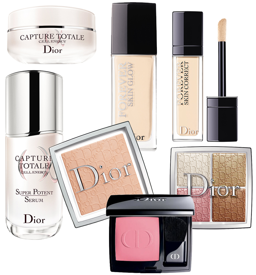 Dior Makeup and Dior skincare for Anua Taylor-Joy beauty look for her Golden Globes appearance in Perfect Wedding Magazine